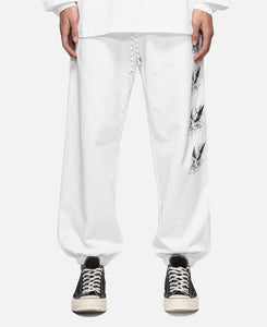 Eagle Trackpants (White)