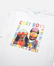 Cozy World Bert&Ernie T-Shirt (White)