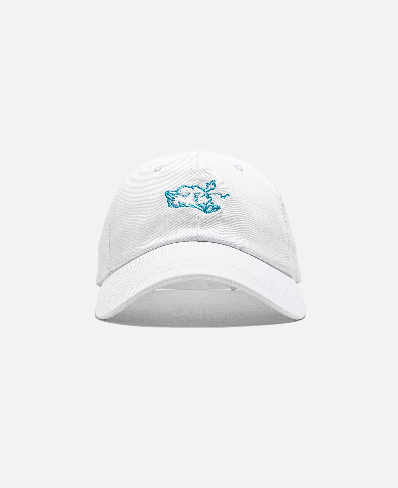 Cozy World Logo Baseball Cap (White)