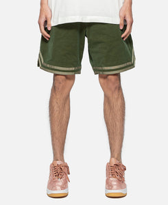 Dressy Basketball Shorts (Green)