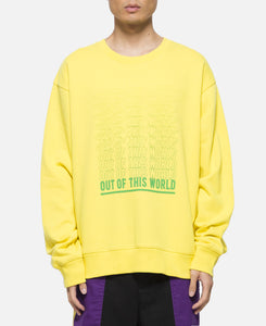 Out Of This World Crewneck Sweat (Yellow)