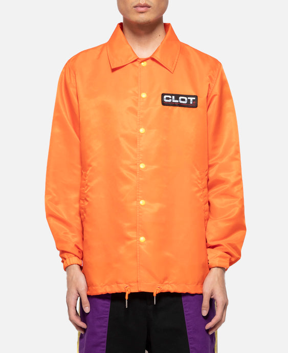 Obey Your Master Coach Jacket (Orange)