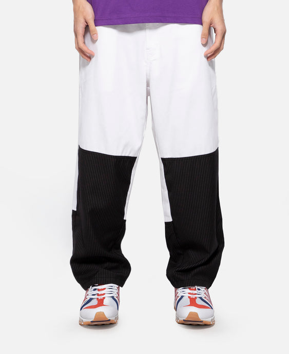Cropped Relax Pants (White)
