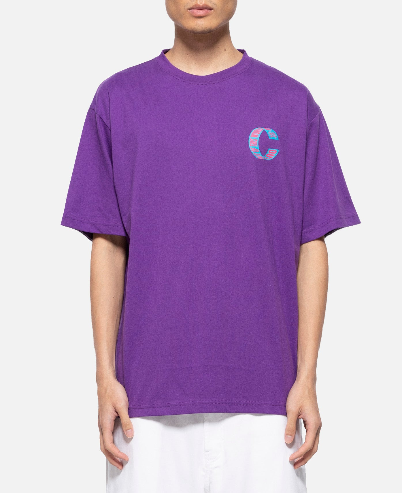 Out Of This World Loop T-Shirt (Purple)