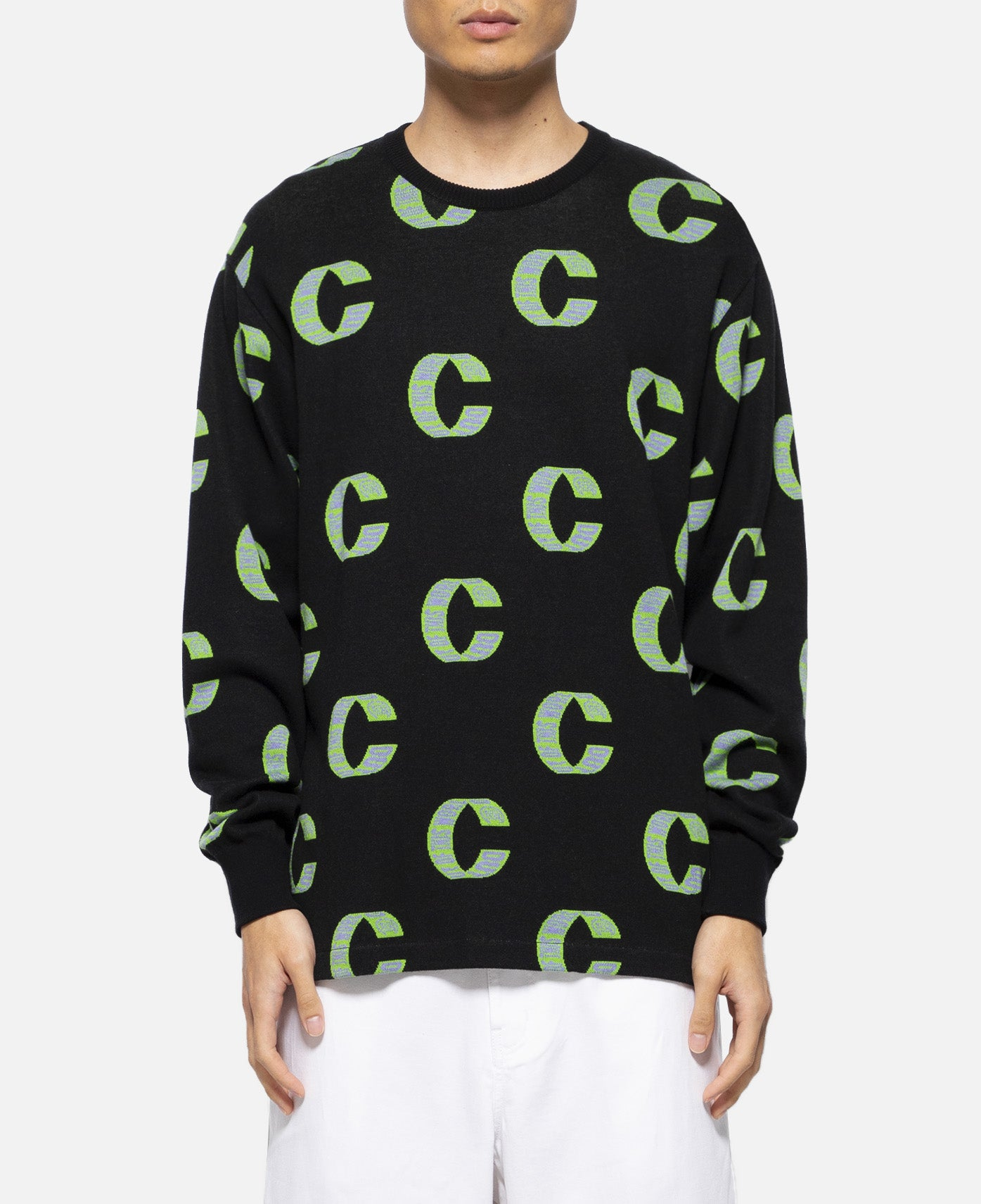 Out Of This World Loop Crewneck Sweat (Black)