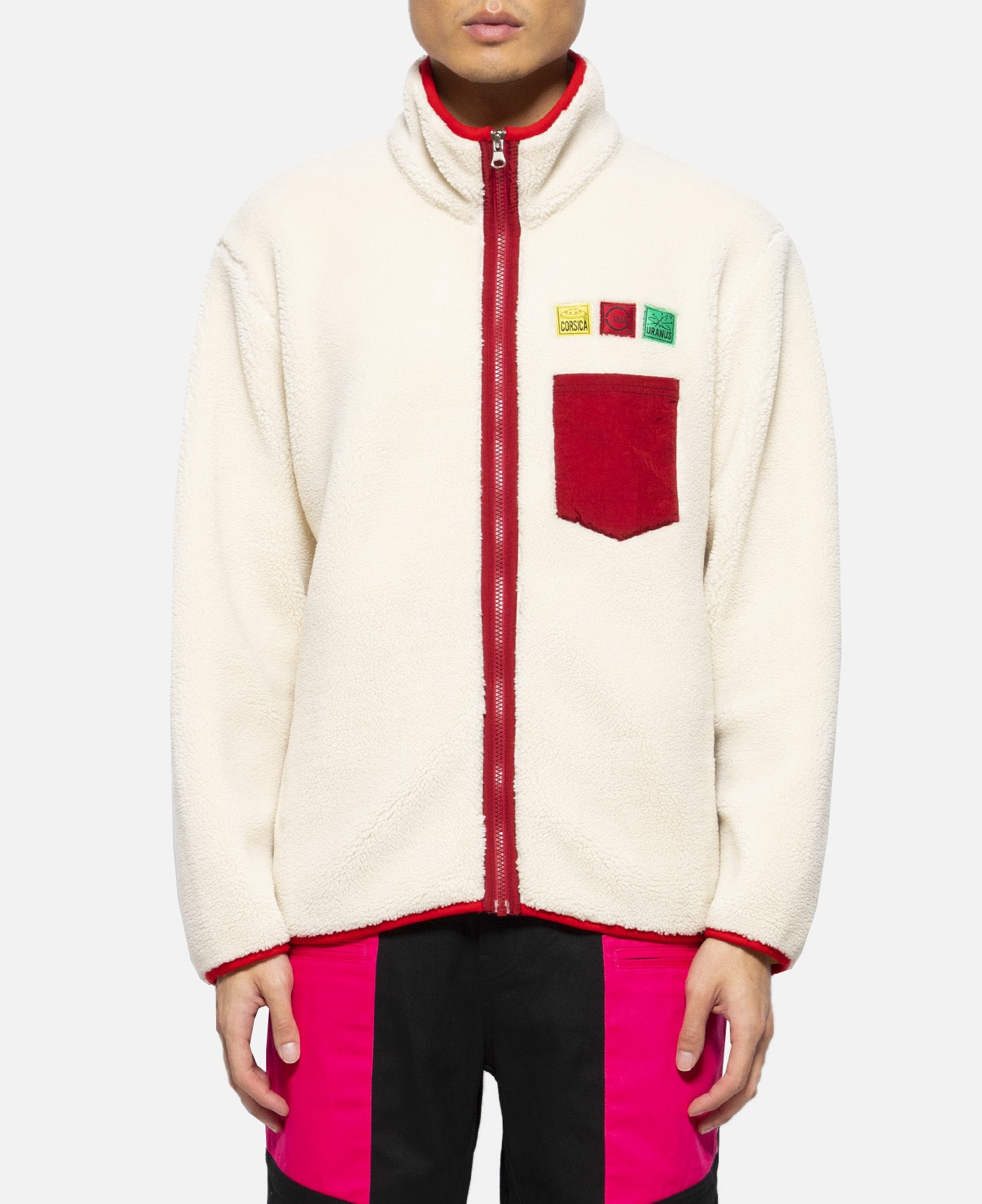 Fleece Jacket (Cream)