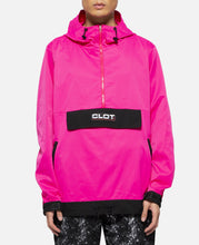 Contrast Color Anorak (Pink)