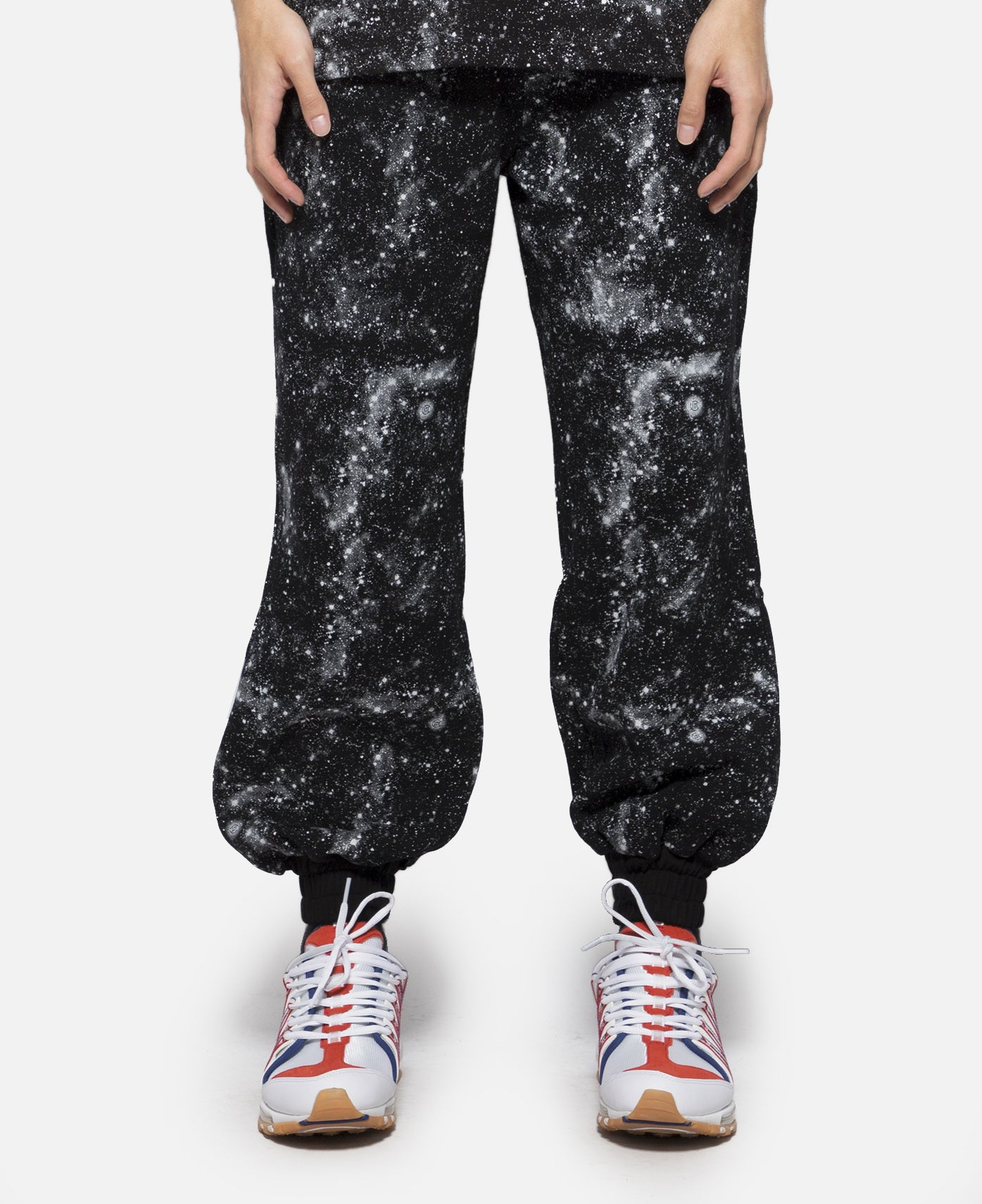 Stars All Over Sweat Pants (Black)