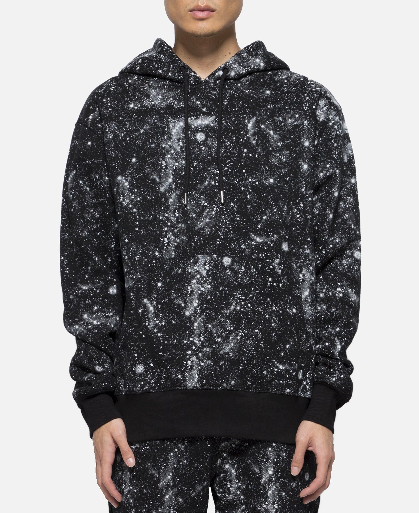 Stars All Over Hoodie (Black)