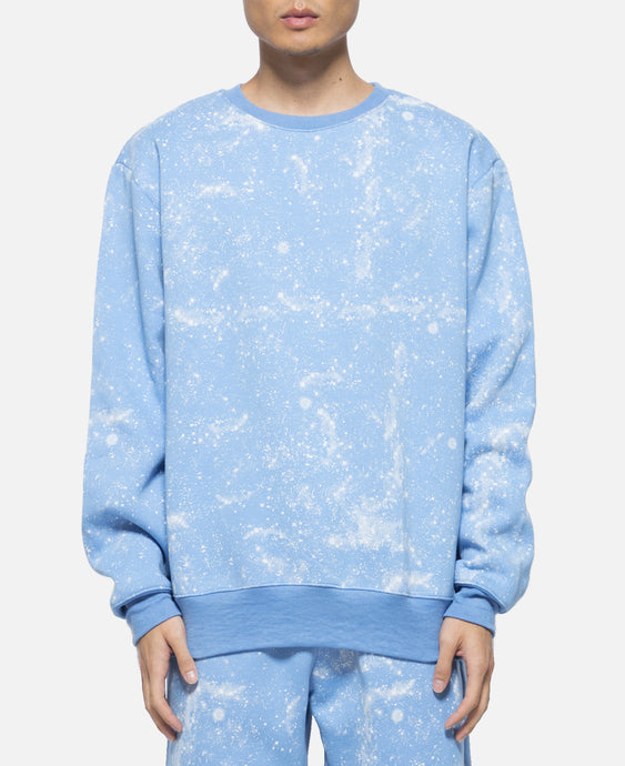 Stars All Over Crewneck Sweat (Blue)