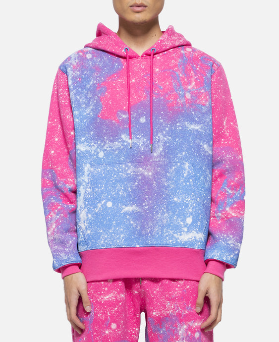 Stars All Over Hoodie (Pink)