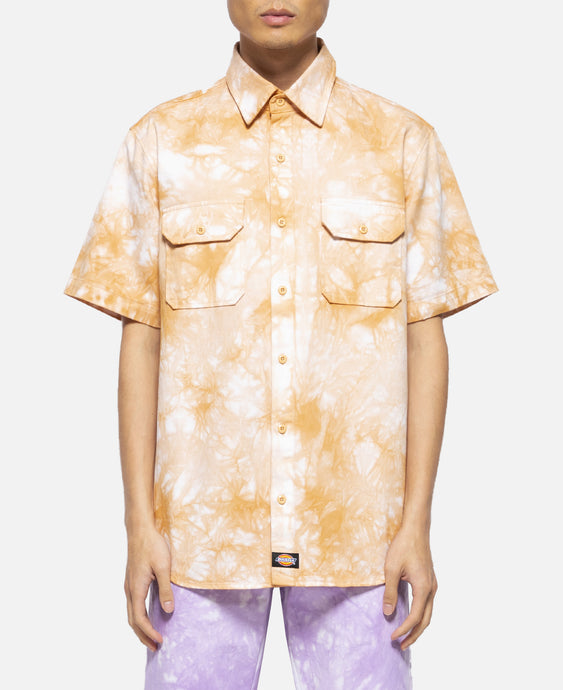 Dragon Tie Die S/S Work Shirt