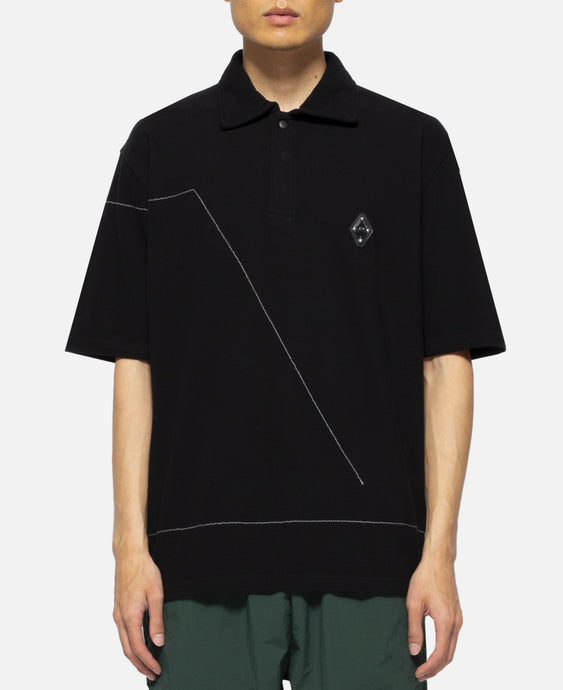 S/S Polo Shirt (Black)