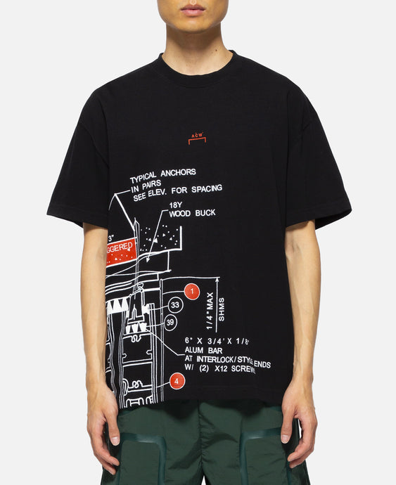 Blueprint T-Shirt (Black)