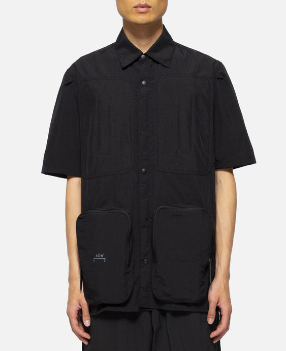 Multi Pocket S/S Shirt (Black)
