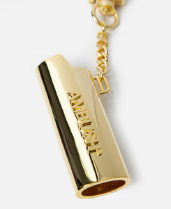 Logo Lighter Case Keychain L (Gold)