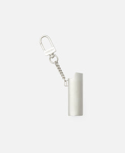Logo Lighter Case Keychain L (Silver)