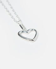 Heart Necklace (Silver)