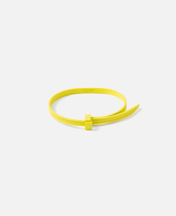 Zip Tie Bracelet (Yellow)