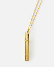 KK Pill Case Necklace (Gold)