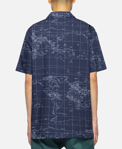 Global Haze S/S Shirt (Navy)