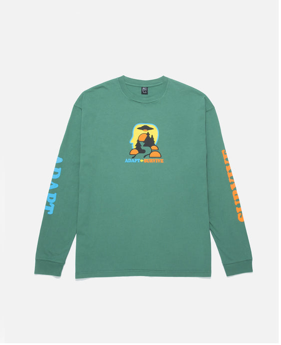 Adapt / Survive L/S T-Shirt (Green)