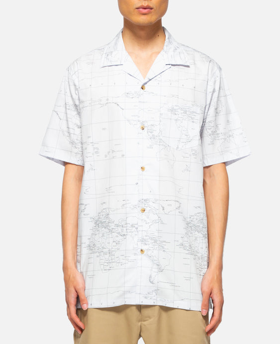 Global Haze S/S Shirt (White)