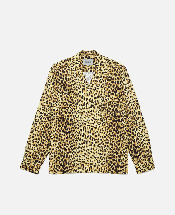 Leopard Shirt (Yellow)