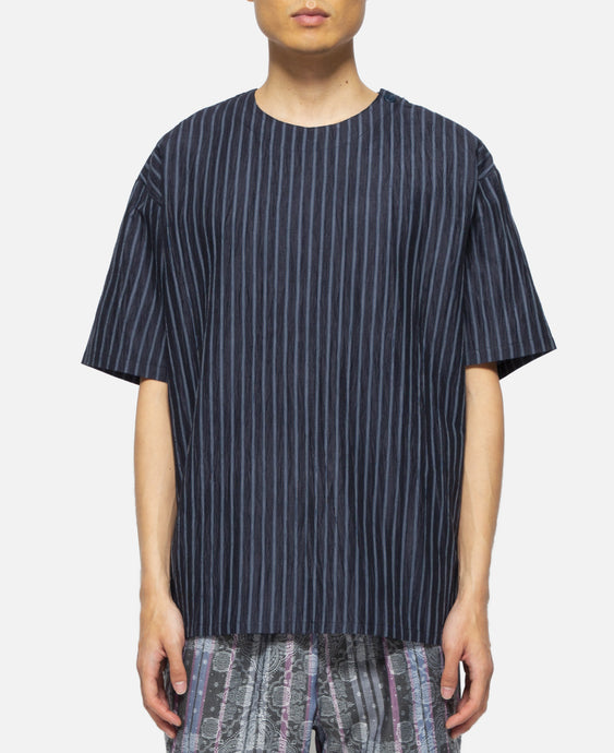 Oversized Dress Up T-Shirt (Navy)