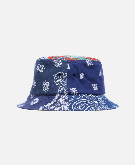 Bandana Bucket Hat (Navy)
