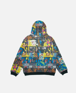 Leon Sadler All Over Print Hoodie (Multi)