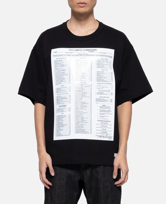'Commissary List' S/S T-Shirt