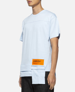 Waist Pocket T-Shirt (Blue)