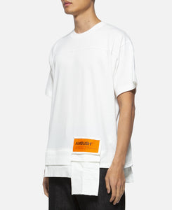 Waist Pocket T-Shirt (White)