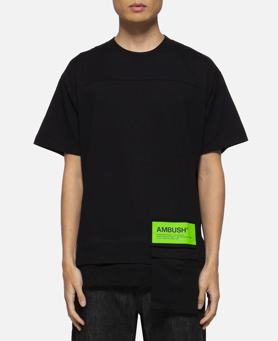 Waist Pocket T-Shirt (Black)