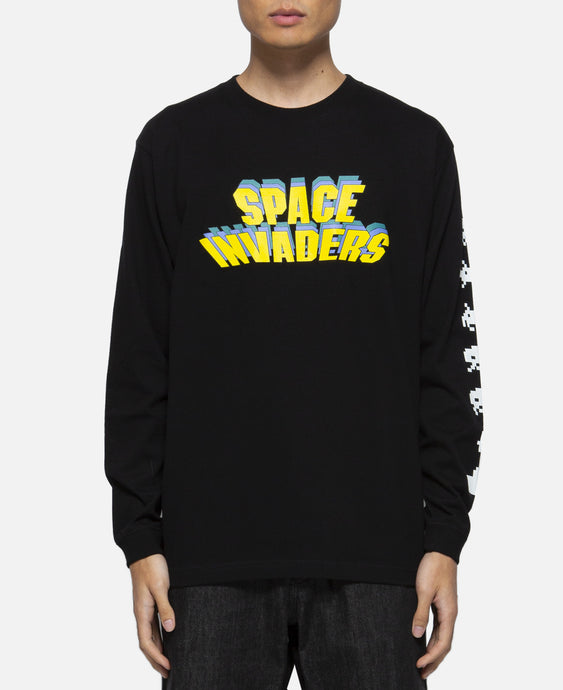 Space Invaders L/S T-Shirt