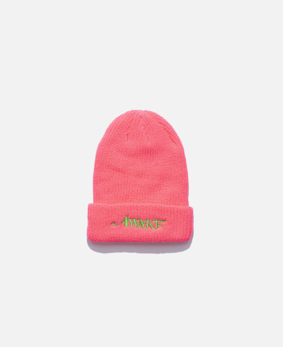 Loose Gauge Classic Logo Beanie (Pink)