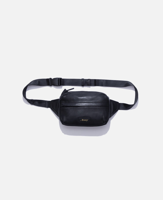 Leather Sidebag (Black)