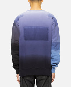 New Patchwork Sweat (Navy)