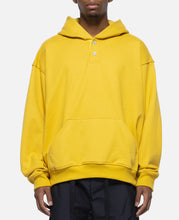 Everyday Henley Hoodie (Yellow)