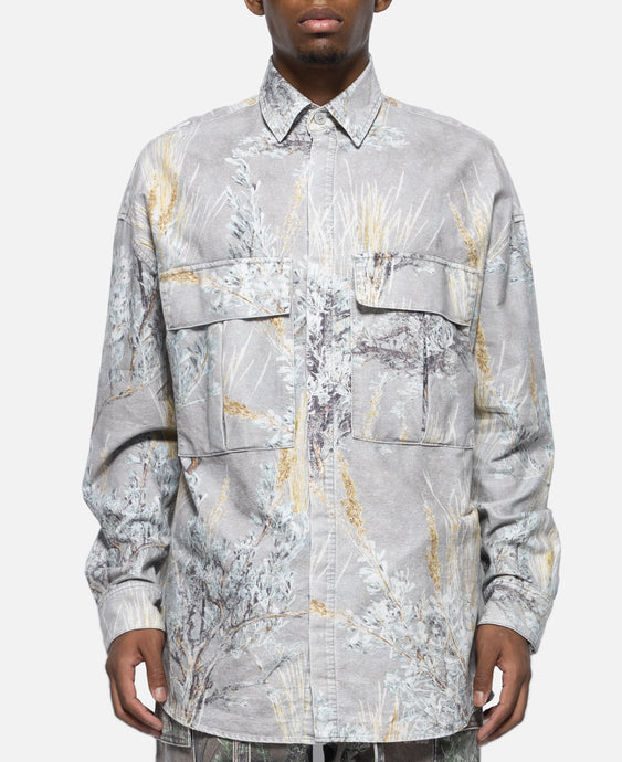 Prairie Ghost Camo L/S Button Up