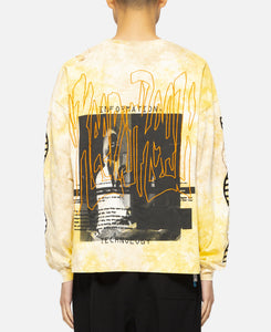 DNA Oversized L/S T-Shirt (Yellow)