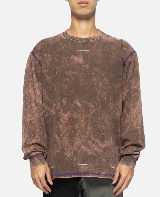 Basic Acid L/S Shirt (Brown)