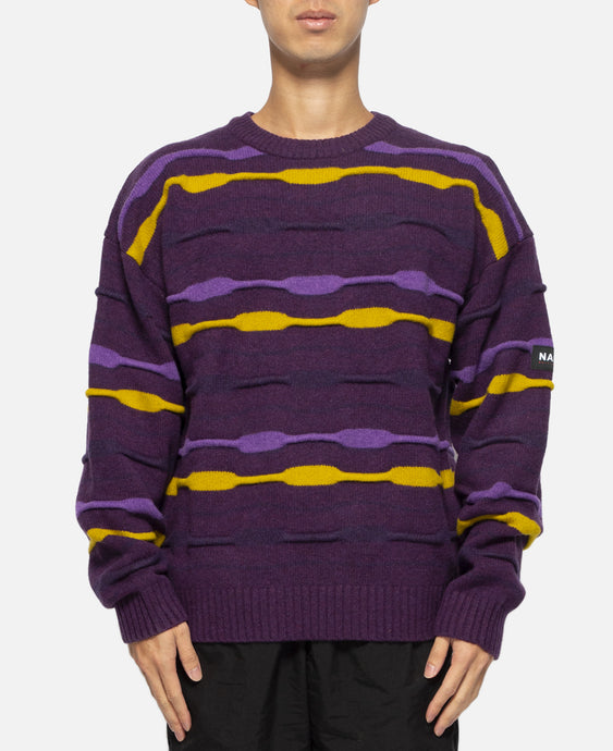 D-Caracal Knitwear (Purple)