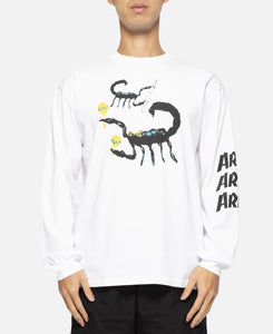 Scorpion L/S T-Shirt (White)