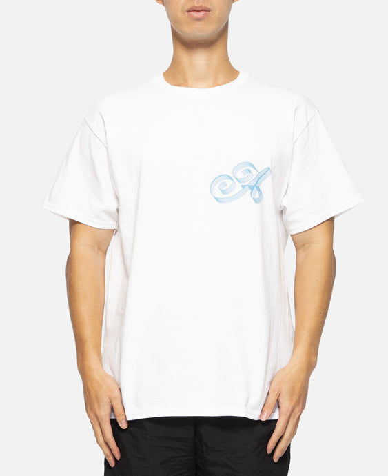 Ribbon Script T-Shirt (White)