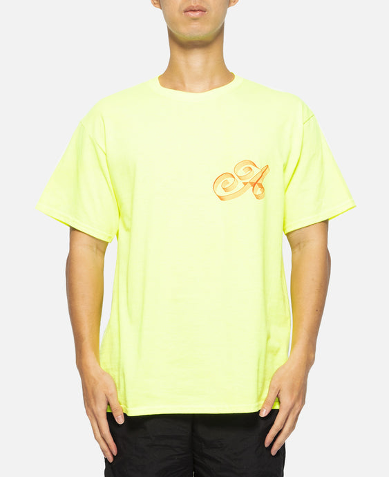 Ribbon Script T-Shirt (Yellow)