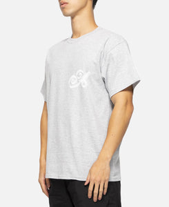Ribbon Script T-Shirt (Grey)