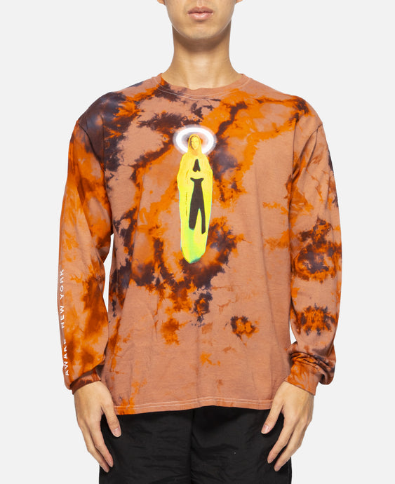 Mary L/S T-Shirt (Orange)