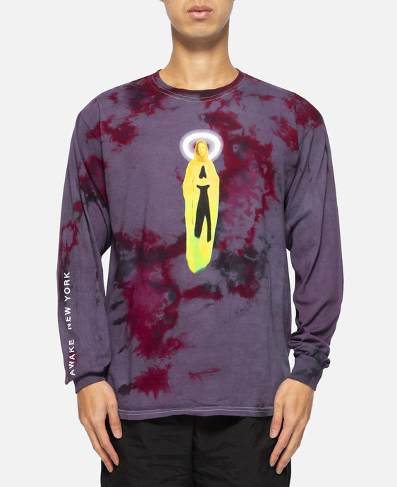 Mary L/S T-Shirt (Purple)